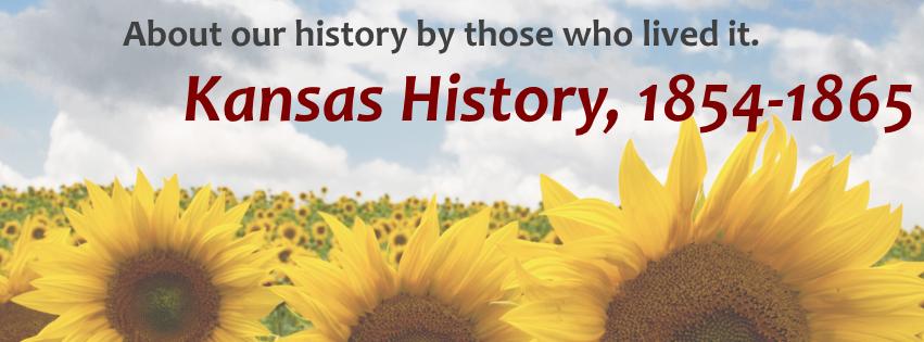 Kansas History Database, 1854-1865