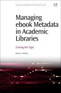 Managing Ebook Metadata