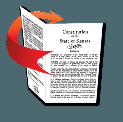Kansas Constitution Kansas State Library Ks Official Website