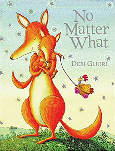 book cover for no matter what by debi gliori