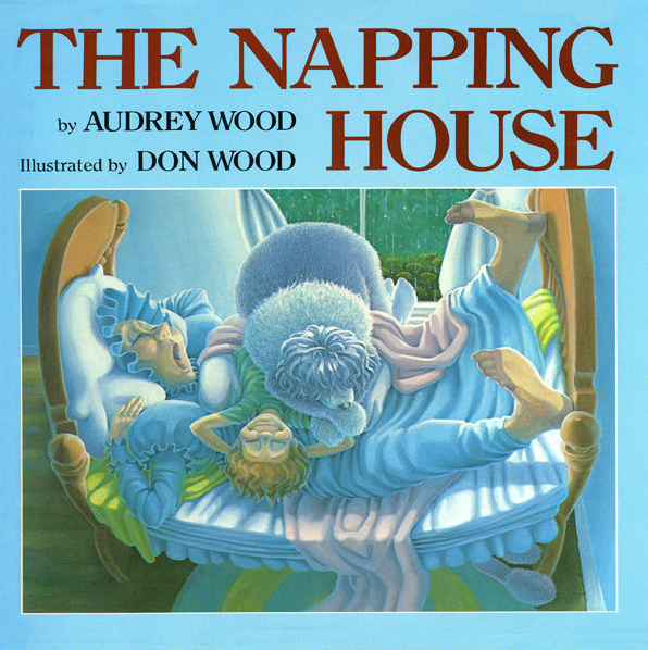 book cover for the napping house by audrey wood