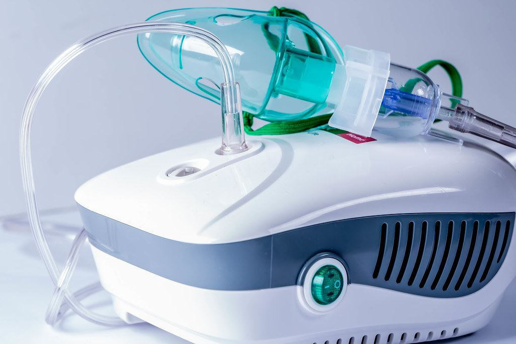 photograph of nebulizer for home use