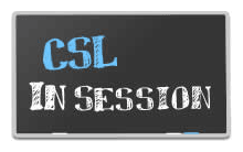 csl in session logo