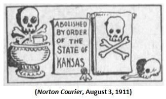 Graphic 13-Abolished by order of the State of Kansas