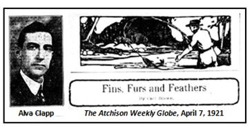 3-Alva Clapp, The Atchison Weekly Globe, April 7, 1921
