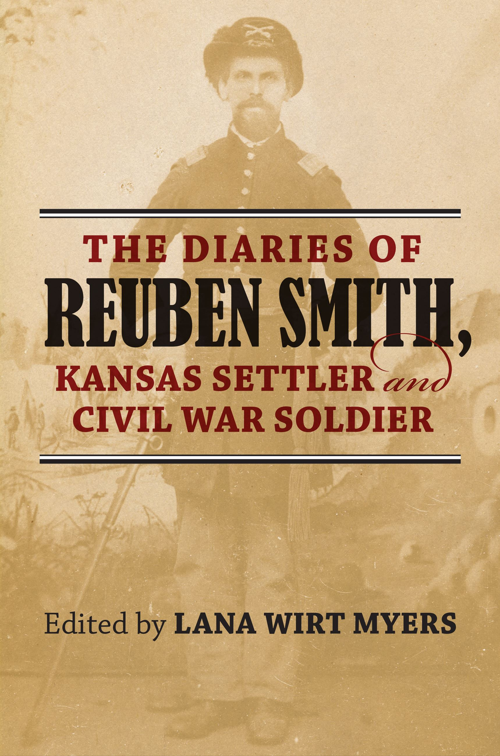 cover art for the book The Diaries of Reuben Smith