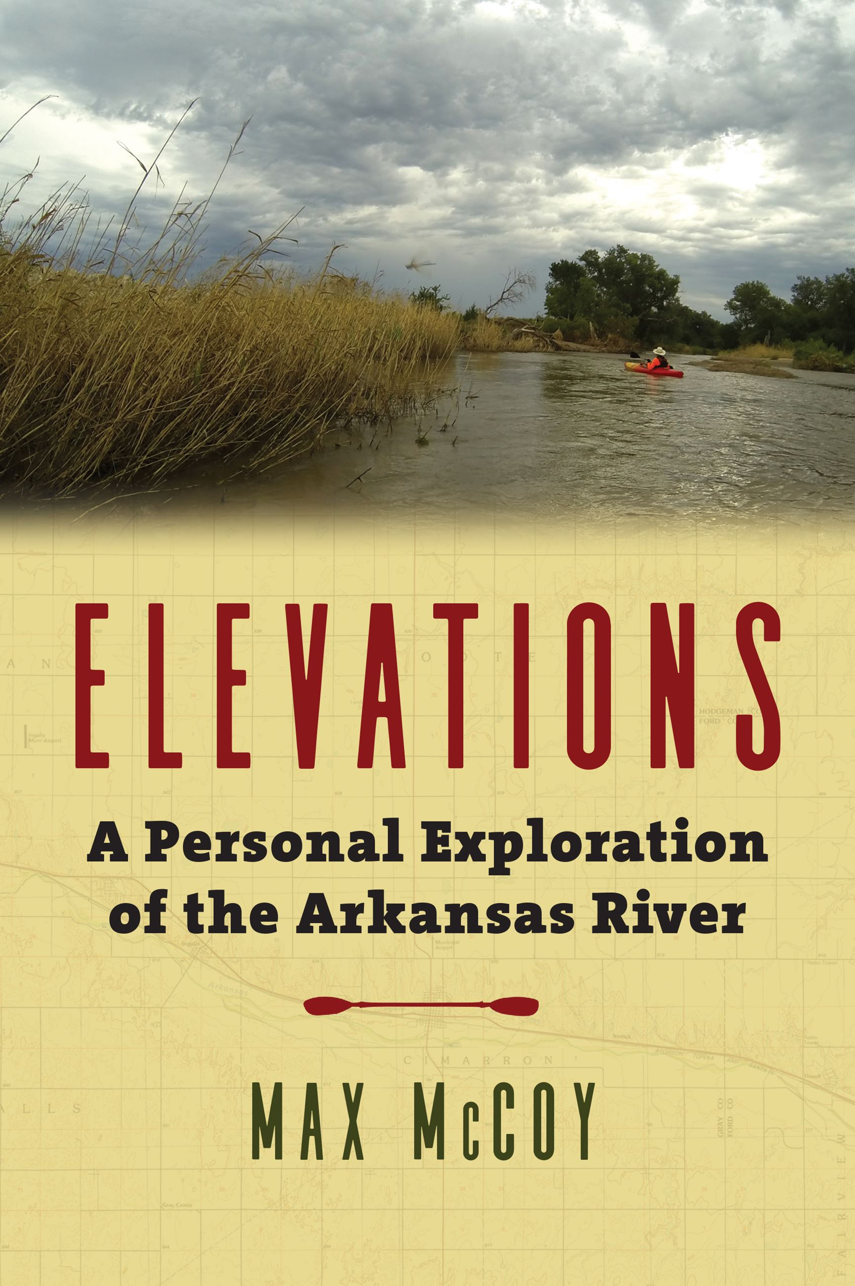cover art for the book Elevations by Max McCoy