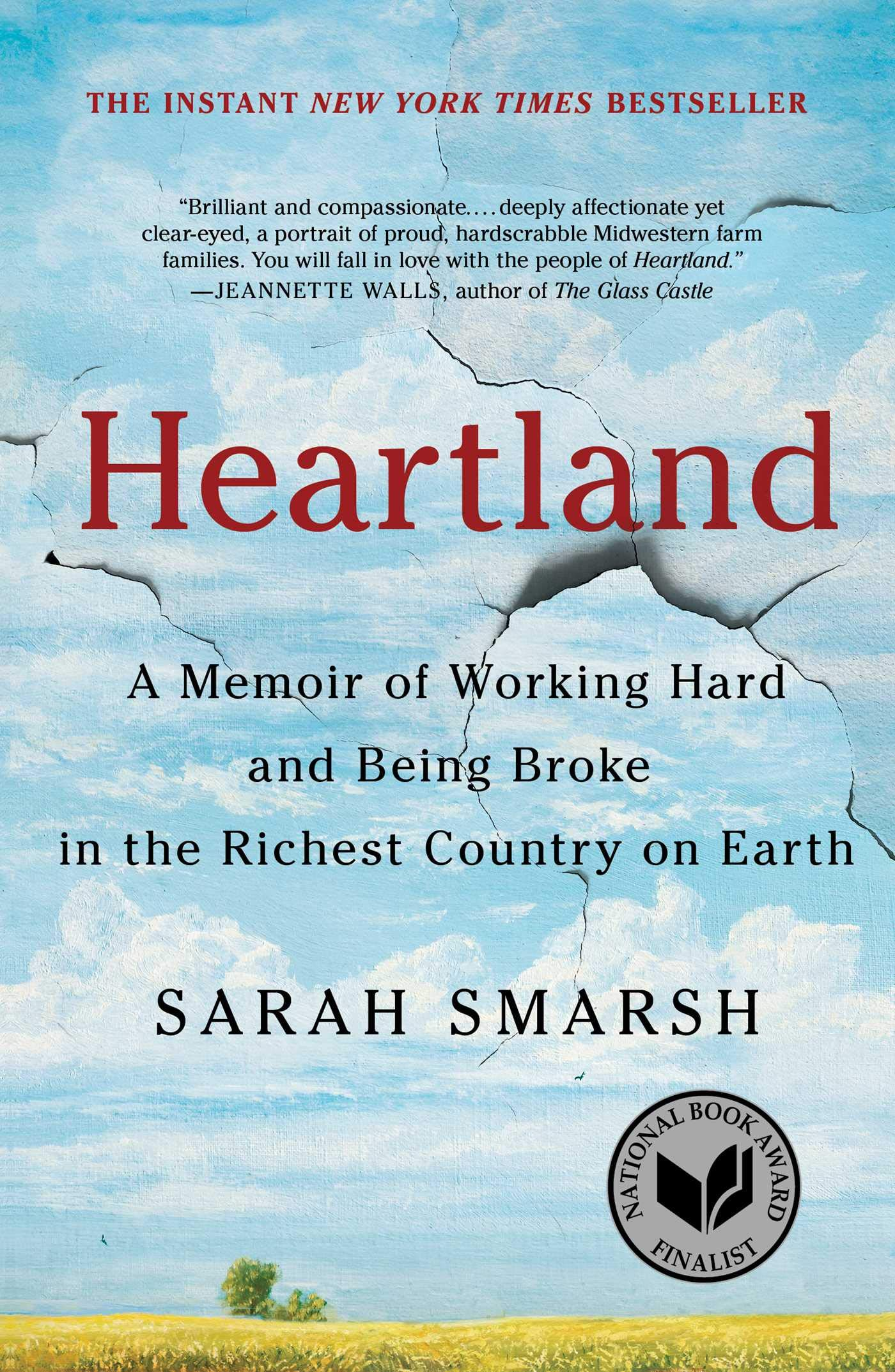 cover art for the book Heartland Sarah Smarsh