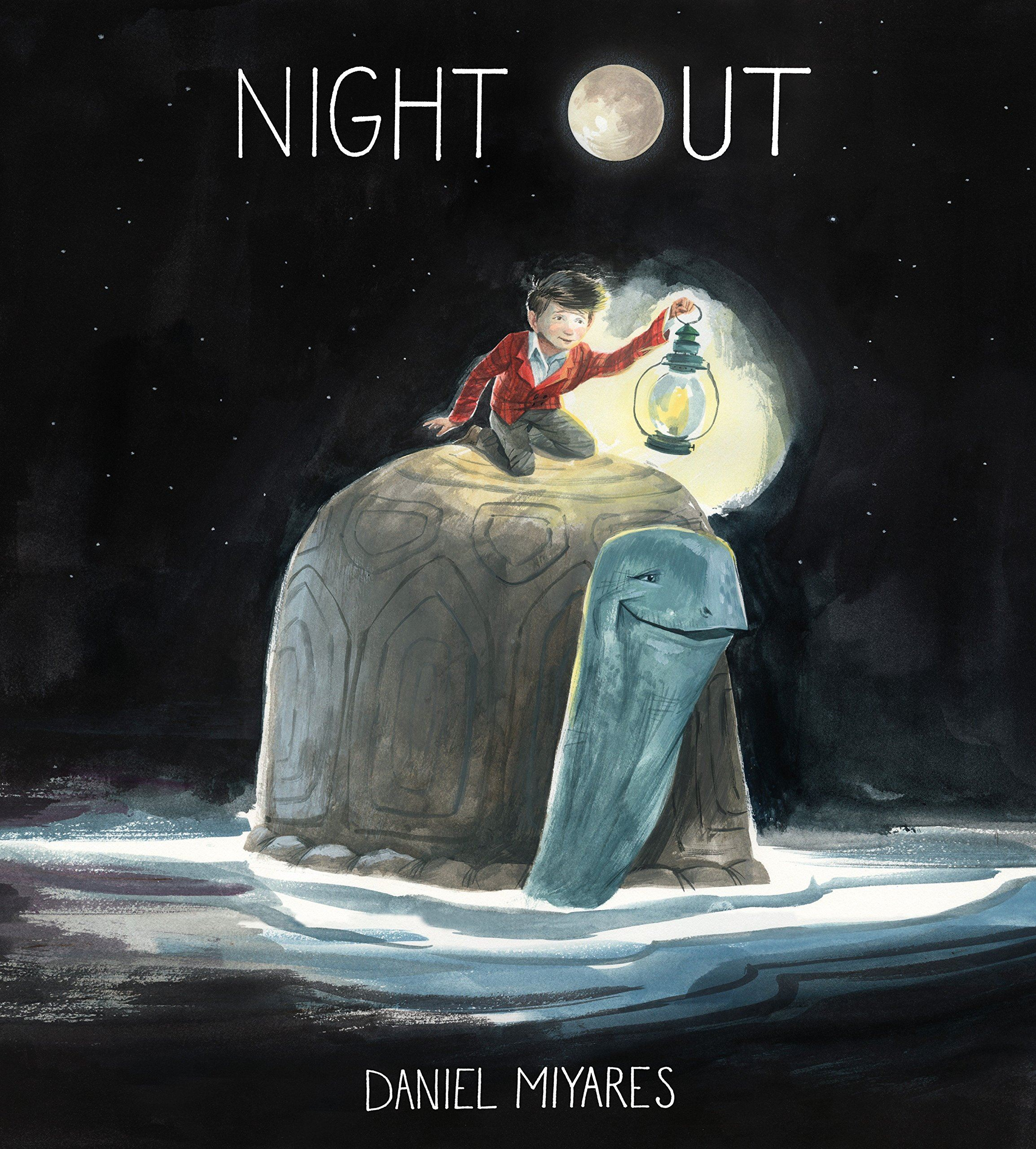cover art for the book Night Out by Daniel Miyares