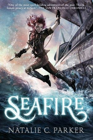 cover art for the book Seafire by Natalie C. Parker