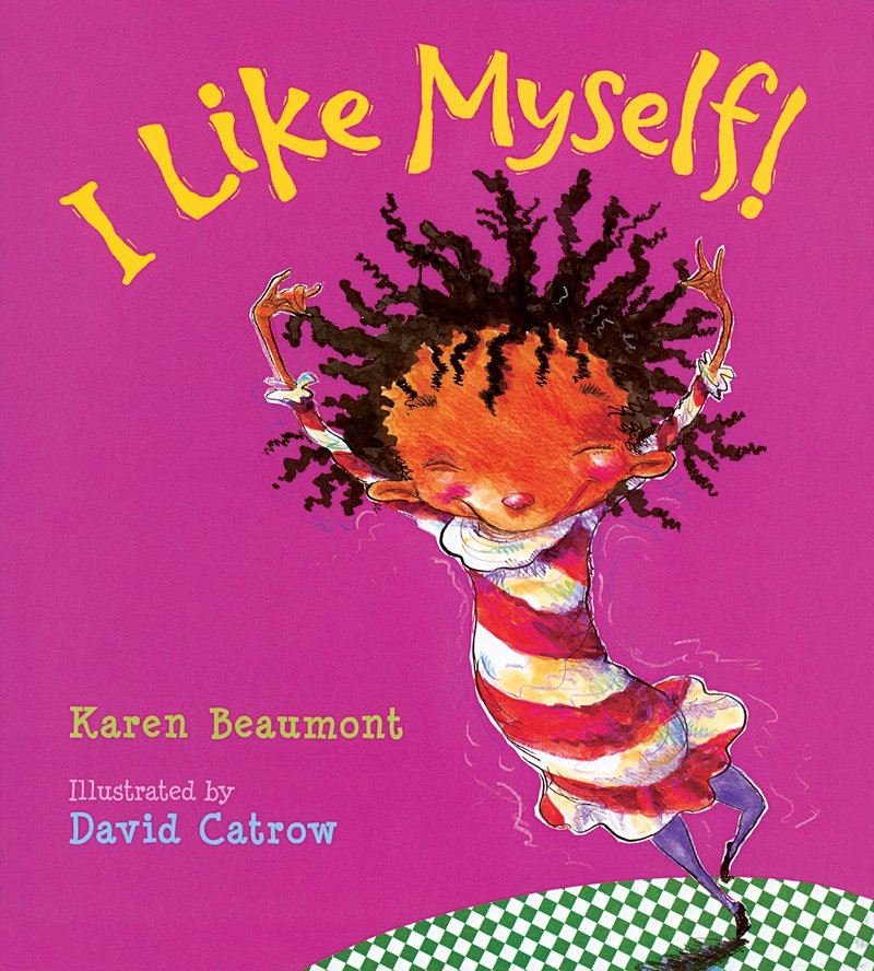 ksr2p 2019 cover: I Like Myself by Karen Beaumont with illustrations by David Catrow