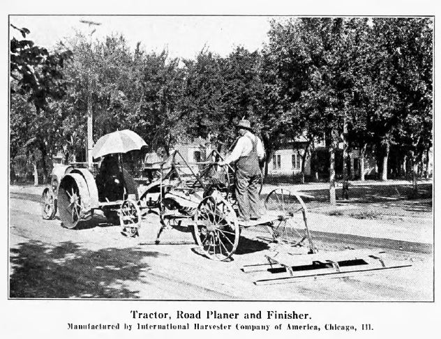 Road Building Machinery 1920